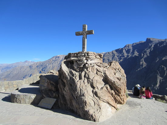 Cabanaconde, Peru: Condor's Cross