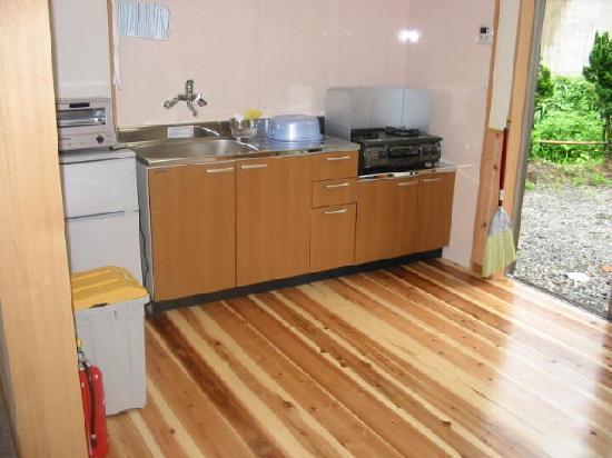 Tojinoyado: B棟キッチン
