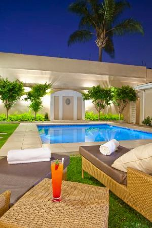 131 on Herbert Baker Boutique Hotel: The Heated Swimming Pool