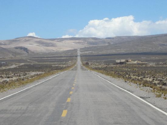 Salinas y Aguada Blanca National Reserve: Desert Landscape