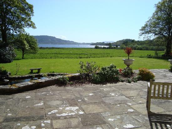 Melfort House: Spectacular views across the Loch