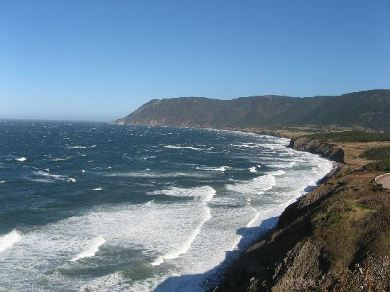 Cabot Trail : Wind on the waters