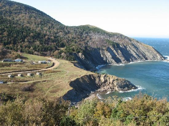 Cabot Trail : Meat Cove - end of the road