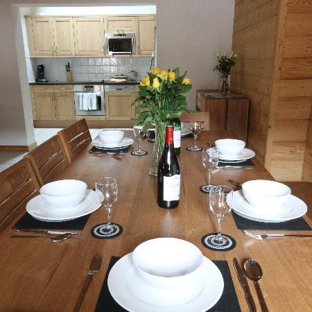 Residence L'Aiglon de Morzine: Living area