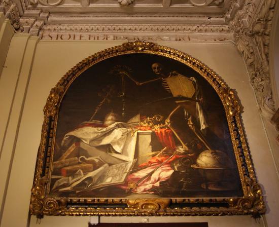 Iglesia de la Caridad: In ictu oculi. Juan Valdés Leal.