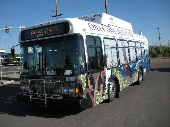 Living Coast Discovery Center : bus that goes to nature center