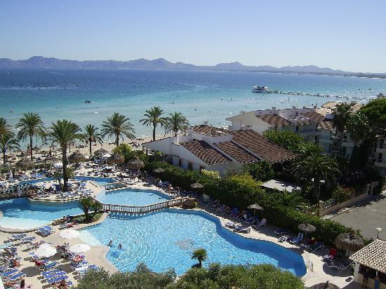 Hotel Condesa de la Bahia: Blick Terasse