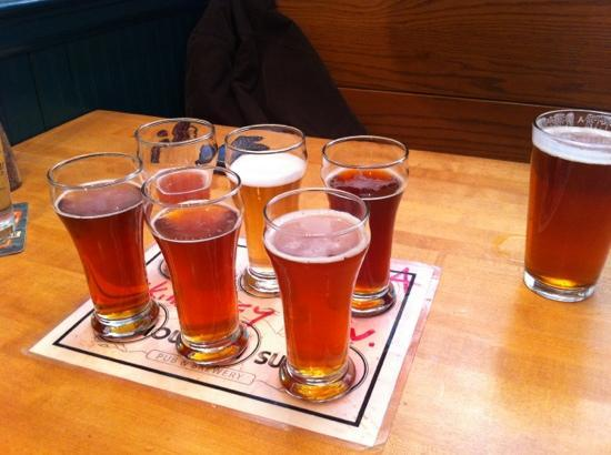 Mountain Sun Pub and Brewery : Taste Sampler