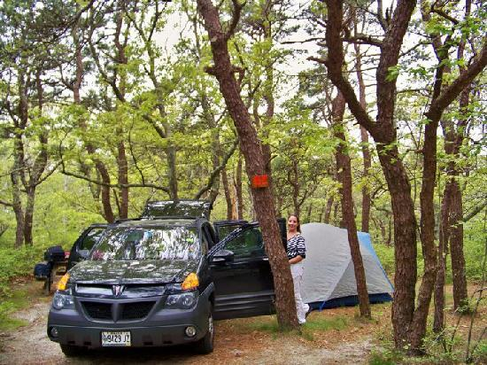 Dunes' Edge Campground: campsite 101