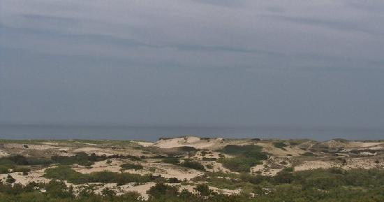 Dunes' Edge Campground: view nearing Race Point Beach Next to Campground