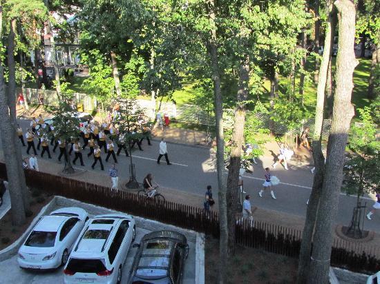 Palanga Spa Luxury : марш оркестра