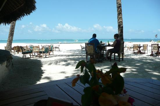 Pinewood Beach Resort & Spa: View from the beach cafe