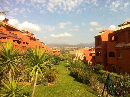 Albayt Resort: uitzicht vanuit de tuin
