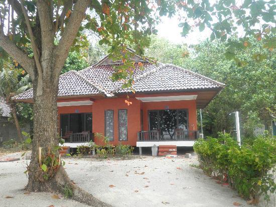Putri Island Resort Hotel: ロッジです。