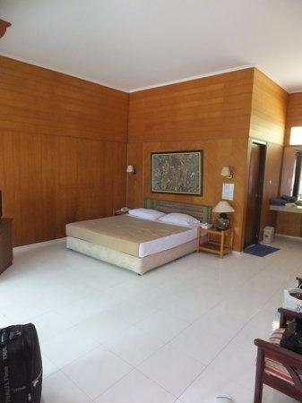 Putri Island Resort Hotel: 部屋はこんな感じです