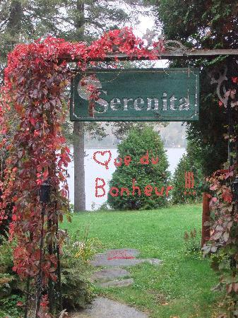 Serenita Spa Auberge : La porte d'un pt. Paradis