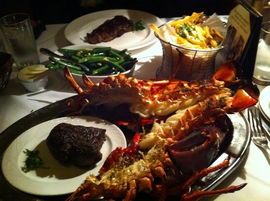 The Palm West Side Surf N Turf Steak And Lobster
