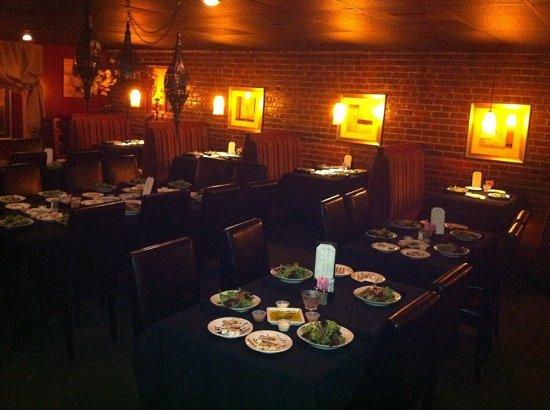 Bistro 109:                   back dining room