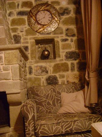 Diktynna Traditional Villas: a warm place to sit and relax..