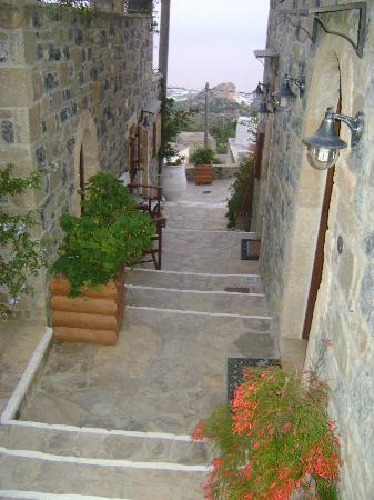 Diktynna Traditional Villas: a sweet passage before the villas..