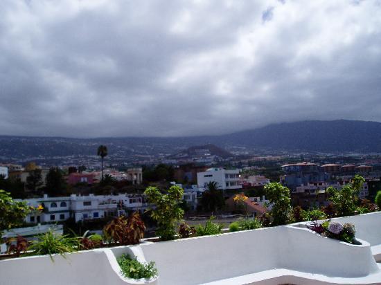Hotel Trianflor: Hotel, vistas del Valle de la Orotava