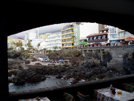 Hotel Trianflor: San Telmo desde el restaurante