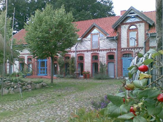 Waddeweitz, Germany: Blick auf das Gästehaus