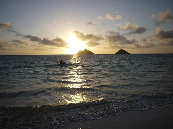 Lanikai Beach: 感動の朝日