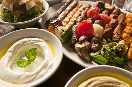 Kababji Grill: Mixed Gril and Mezze