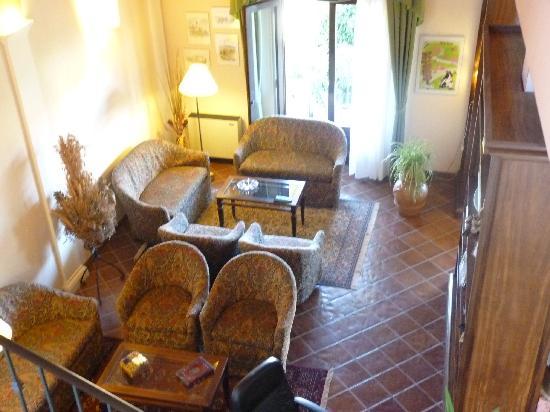 Hotel le Volpaie: Coin détente