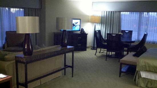 Doubletree by Hilton Orlando at SeaWorld: Tower Corner Room - LARGE!!