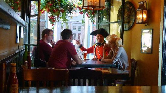 British Red Coat in Green Dragon Tavern - Picture of Green Dragon