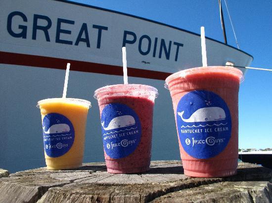 Nantucket Ice Cream & Juice Guys: Nantucket's Best Smoothies!