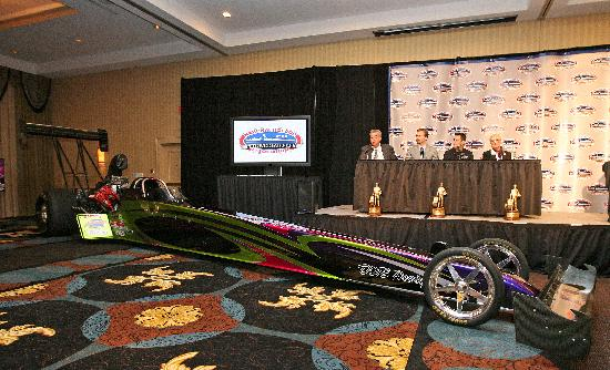 Hilton Charlotte University Place: The NHRA hosted a press conference during the 3.5-day event in which the hotel worked to get a f