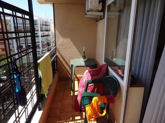Hotel San Cristobal: балкон