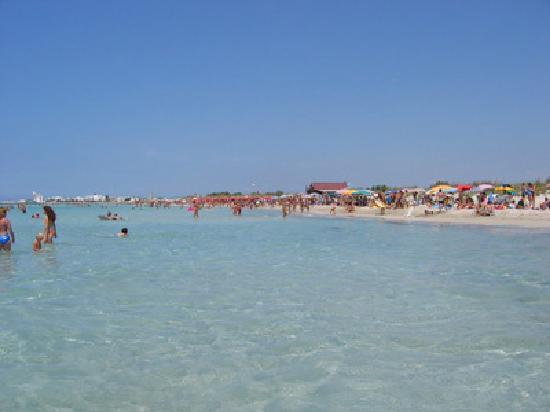 Hotel Salento Mirfran: spiaggia