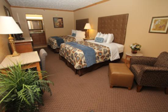 Willow Brook Lodge: Deluxe Queen Room