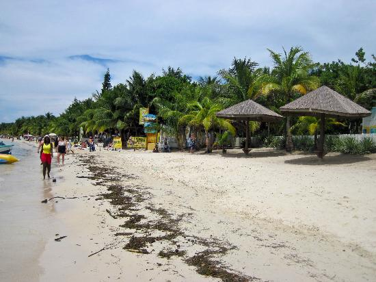 Bananarama Island Activities Center: The beach area