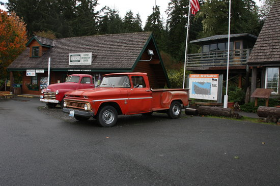 Forks Timber Museum : Bella's old red beater