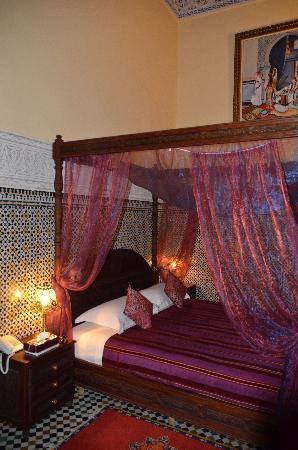 Riad Ibn Khaldoun: habitación