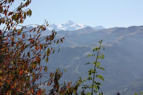 Chalet Hotel La Terrasse de Verchaix: Mont Blanc