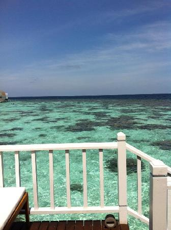 Centara Grand Island Resort & Spa Maldives: View from Villa steps