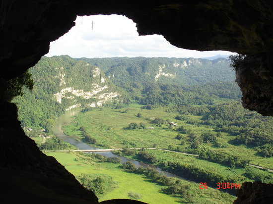 Arecibo, Puerto Rico: the view