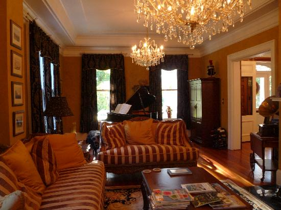 An Inn on York Street: Living Room with Player Piano