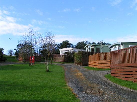 Kirkcudbright, UK: Chalet Area