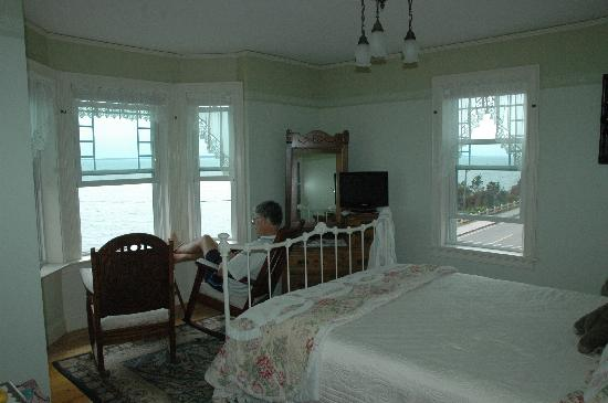 Baileys By The Sea: our room -- serene, breezy, killer water views