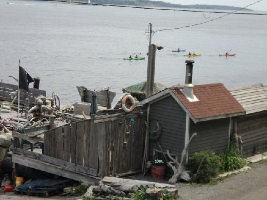 SeaWatch Bed & Breakfast: Private Dock