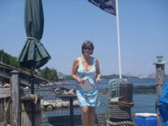 SeaWatch Bed & Breakfast: Your Hostess - Elaine