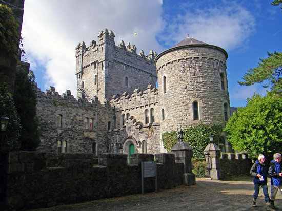 Letterkenny, Ireland: the Castle