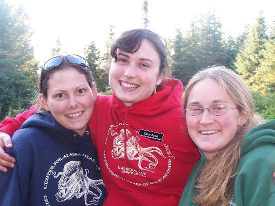 Center for Alaskan Coastal Studies: happy Staff!